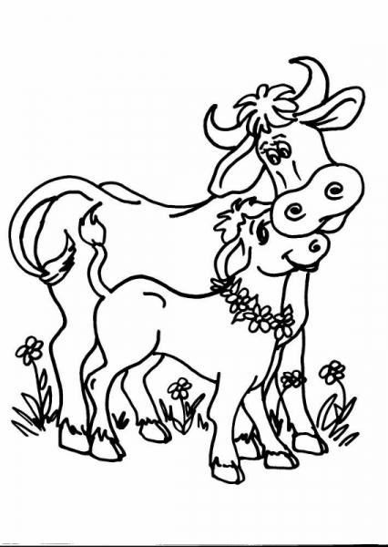 Aiuti agli allevatori per l acquisto di riproduttori - Animali immagini da colorare pagine da colorare ...