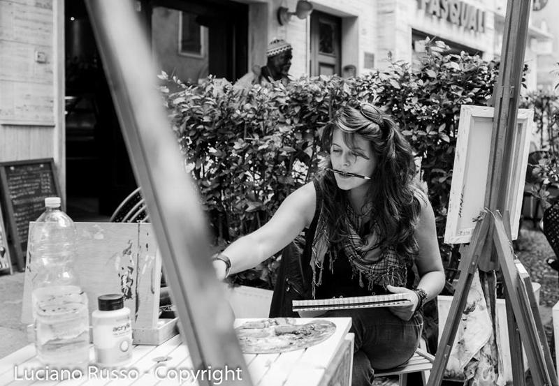 Silvia Muraglia nella foto di Luciano Russo