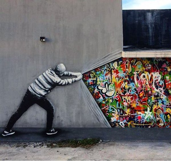 New Street Art by Martin Whatson in Miami