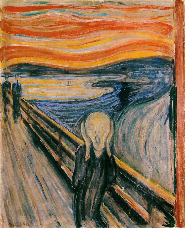 L'Urlo, di Munch