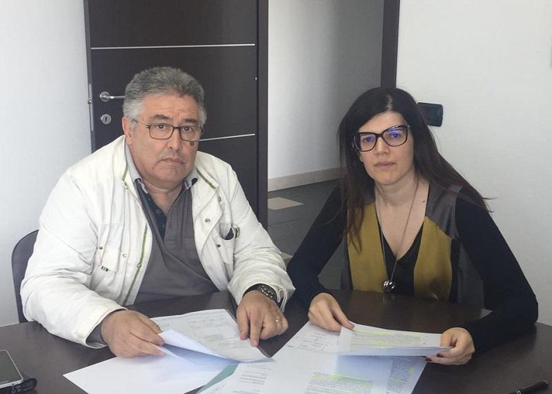Roberto Melis e Daniela Forma