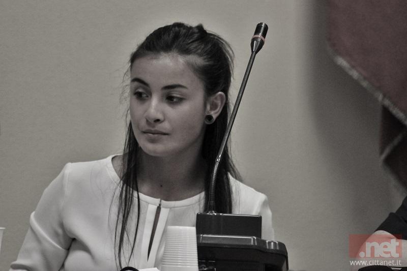 L'ormai ex Capogruppo Michela Becciu
