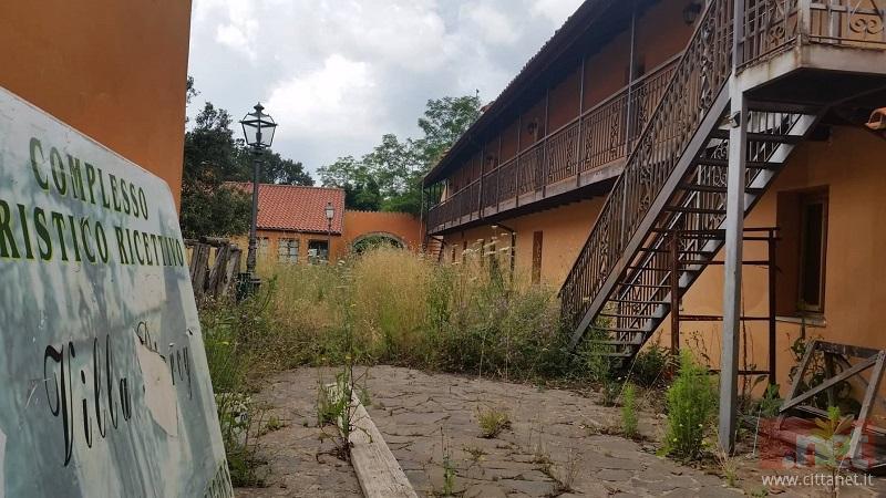 Le condizioni attuali della struttura di Badde Salighes