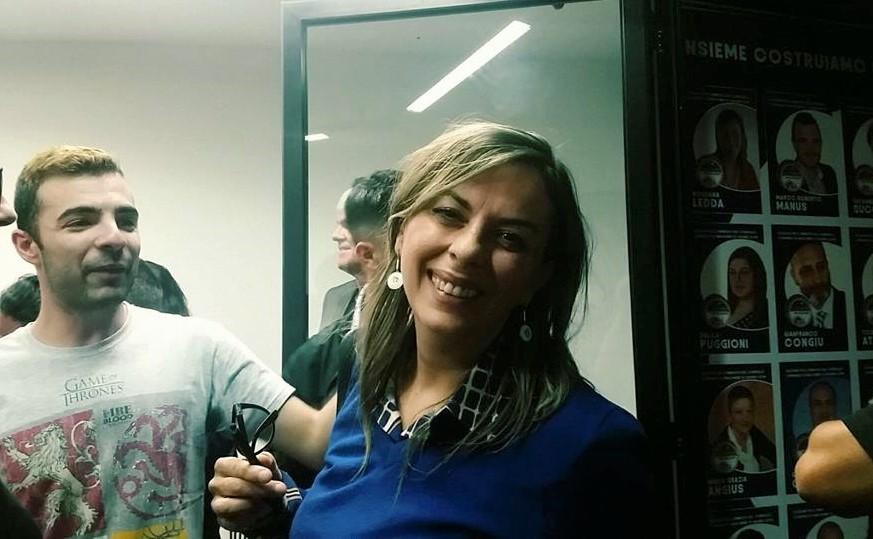 Rossana Ledda, candidata più votata della lista vincitrice
