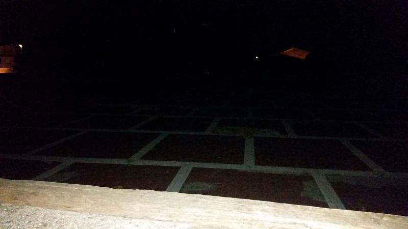 La Piazza al buio